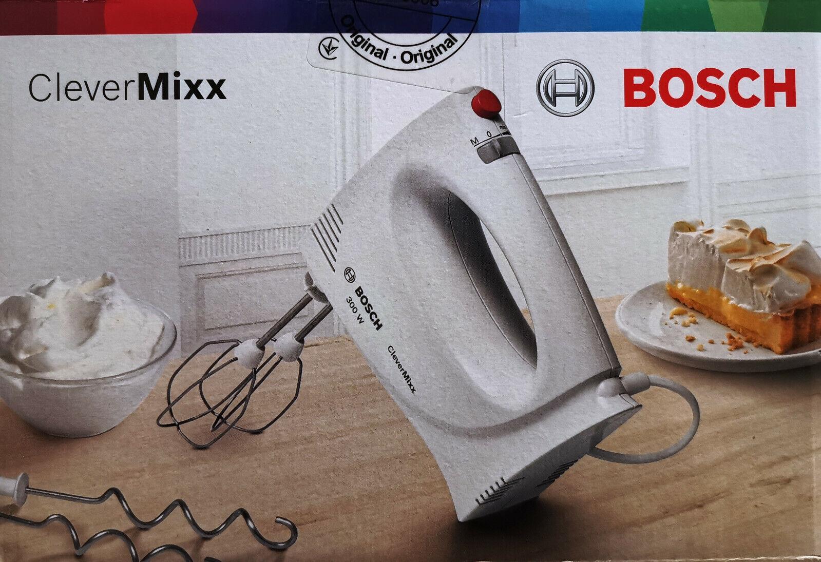Bosch CleverMixx Handrührgerät Rührgerät Handmixer 300 W 2 Geschwindigkeiten