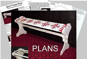 QUILTING-FRAME-PLANS-Easy-To-Build