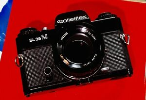 Rolleiflex Sl 35 M Planar 50 mm1.8 vintage film camera