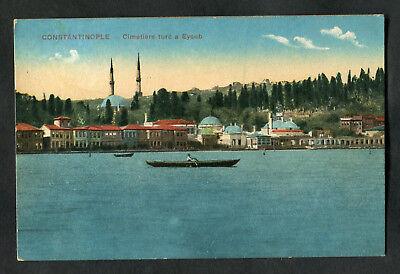 C1920s View: Cemetary & Shoreline, Istanbul