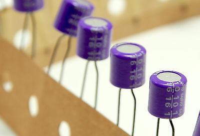 New X 10 Pcs. Sanyo 16v 10uf Oscon Os Con Organic Elect Audio Capacitor Japan