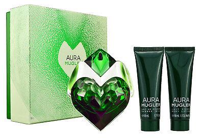 Thierry Mugler Aura Mugler 30ml Eau de Parfum & 50ml Bodylotion & 50ml ShowerGel ()