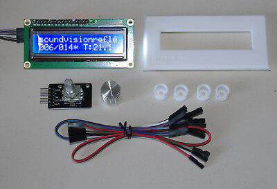 LED DISPLAY BLAU + ROTARY HARDWARE MOD für GOTEK USB Laufwerke -