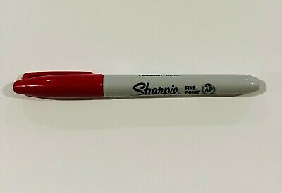 Sharpie - 30022 - Brick Red Fine Point - 1 Each