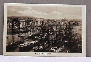 Napoli - Veduta del Porto [piccola, b/n, non viaggiata] - Italia - L'oggetto può essere restituito - Italia