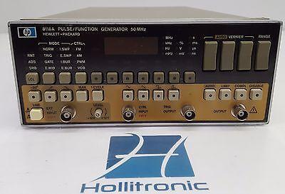 HP Hewlett Packard 8116A Pulse/Function Generator 50Mhz