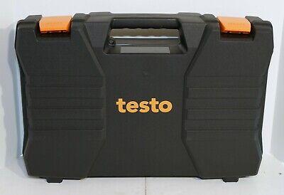 Testo 570 Digital Manifold Guage Refrigeration System 4 Valve 0563-5703 2 Clamp