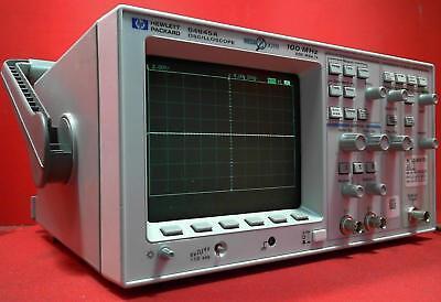 Hp - Agilent 54645a 100mhz Oscilloscope