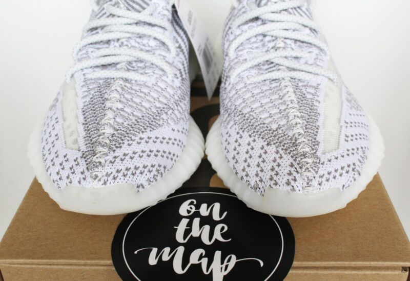 34f22a90097ac ... Adidas Yeezy Boost 350 V2 Static Non Reflective UK 3 4 5 6 7 8 9 ...