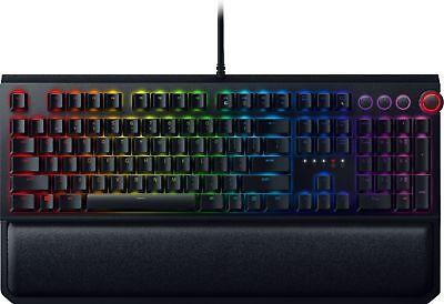 BlackWidow Elite Wired Gaming Mechanical Razer Green Switch Keyboard with RGB...