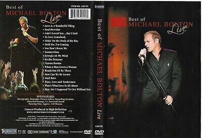 Best Of Michael Bolton Live (OOP 2005 DVD) Original Liberation