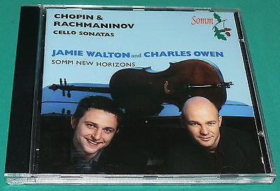 Chopin   Rachmaninov Cello Sonatas   Jamie Watson Cello Charles Owen  Somm  Cd