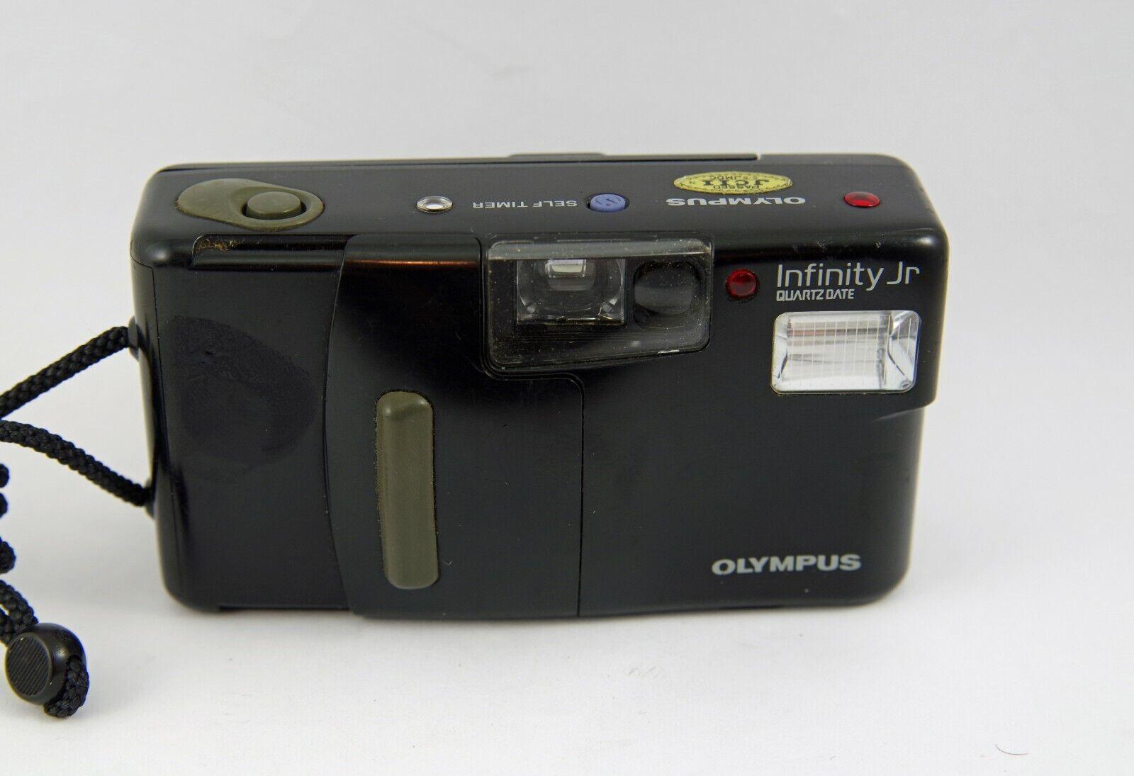 Olympus Infinity Jr. 35mm Point Shoot Film Camera - $49.75