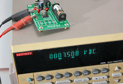 New Ad584 High Precision Voltage 4 Resistance Ref. Calibrated By Keithley 2000