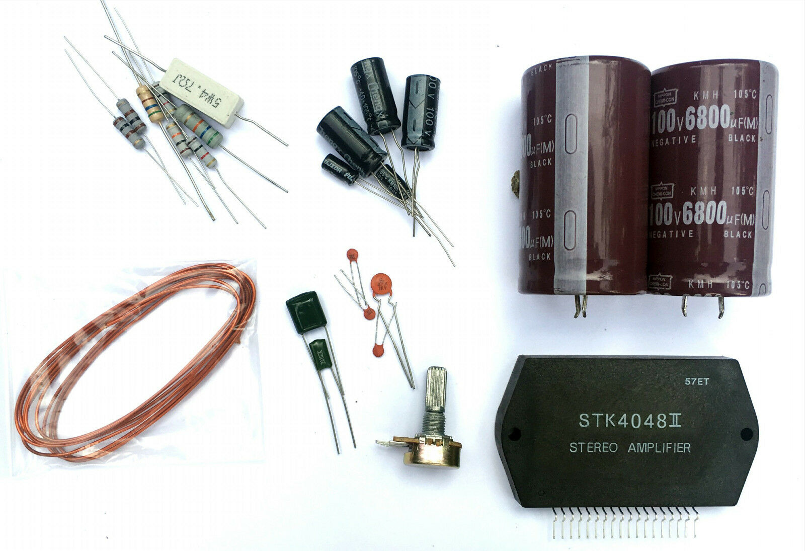 Stk 4048 150w Amplifier Mono 10 Pcb Ccl Anti Etching Circuit Board Ink Marker Pen For Diy Ebay Condition