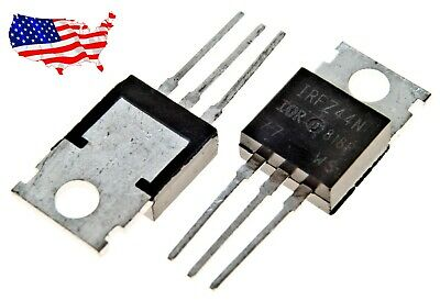 Irfz44n 10 Pcs 49a 55v To-247 N-channel Power Mosfet - From Usa