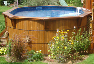 Piscine aquabois