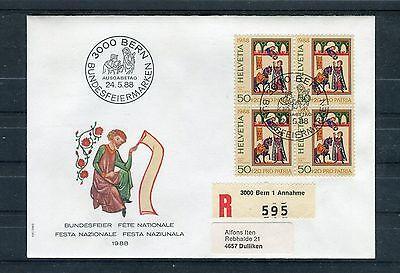 Schweiz Mi.-Nr. 1373 auf Erstagsbrief (Einschreiben) - b1271