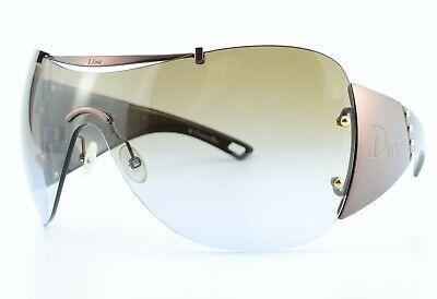 CHRISTIAN DIOR Sonnenbrille Diorito 1 LRVJN 110 Oversized Shield M + GUCCI Case