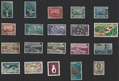 G623 Somalia / A Small Collection Early & Modern Used
