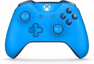 Microsoft Xbox One S Blue Wireless Bluetooth Controller 1708  Blue