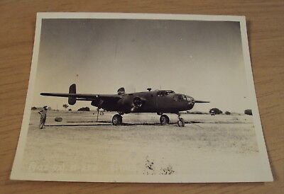"""1942 WWII 'OFFICIAL' US Army Photo~""""B-25 MITCHELL BOMBER"""" Australia~"""