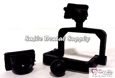 Dental Lab Disposable Plastic Articulator 100 Sets Black- 604