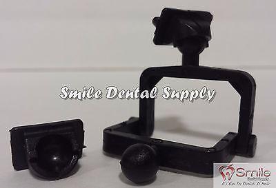 Dental Lab Disposable Plastic Articulator 500 Sets Black- 604 Us Seller