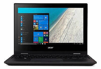 "Acer TravelMate Spin B1 11.6"" Laptop Celeron 1.10GHz 4GB 128 SSD Windows 10 H"