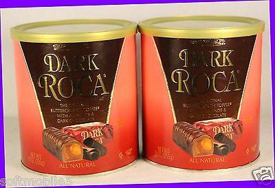 2 Brown & Haley DARK ROCA Buttercrunch Toffee Almond Chocolate Candy NATURAL Brown & Haley Almond Candy