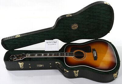 Guild D-55 Acoustic Guitar - Antique Burst - Large Body Crack