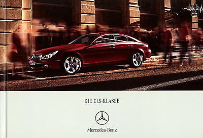 Prospekt Mercedes Benz CLS 5 06 2006 Autoprospekt Auto PKWs Broschüre brochure