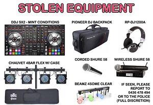 DJ Gear - Stolen!!!