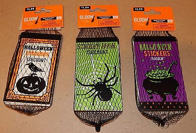 Halloween Mini Sticker Tablets 3 Sets Of 6 Books ea 2448 Total 1/2