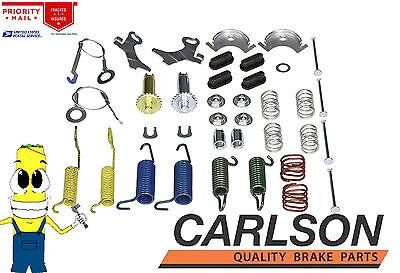 Complete Rear Brake Drum Hardware Kit for Ford Explorer 1991 1994 ALL Models