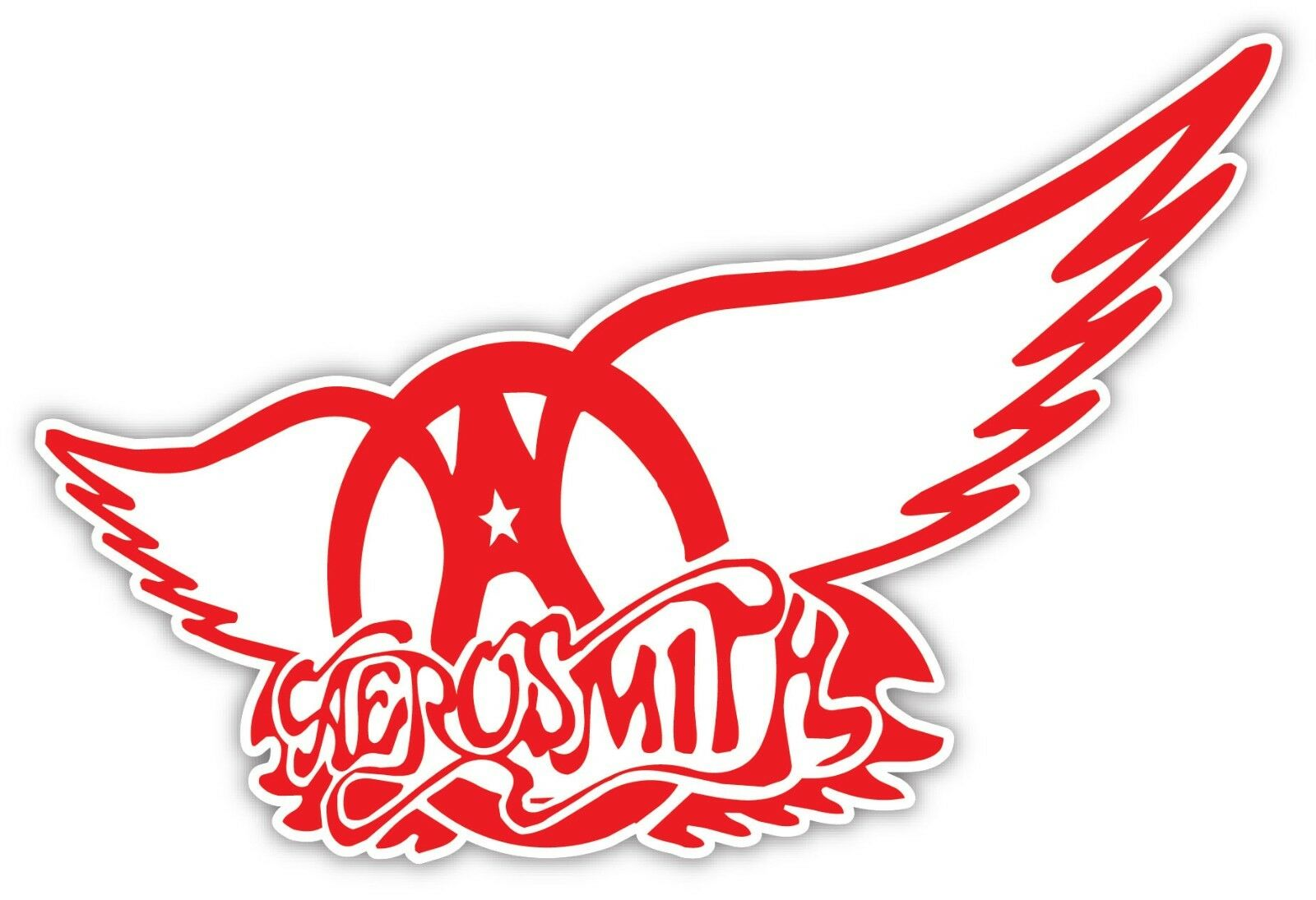 Home Decoration - Aerosmith Vinyl Sticker Decal *3 SIZES* Vinyl Bumper Wall Rock Metal