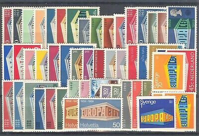 1969 EUROPA CEPT complete year set MNH