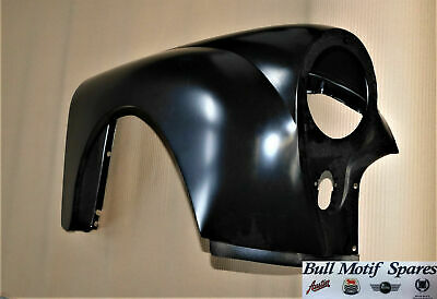 Morris Minor R/H Pattern Front Steel Wing