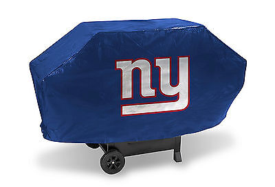 New York Giants Grilling - New York Giants Deluxe Grill Cover [NEW] NFL Vinyl Grilling Barbeque CDG