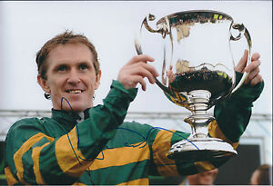 Tony-McCoy-SIGNED-Autograph-Photo-Jockey-AFTAL-COA-Champion-Winner-Authentic