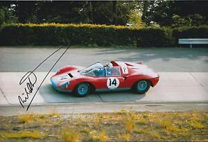 Richard-Attwood-Classic-Autograph-12x8-Photo-AFTAL-COA-Signed-Winner-Vintage