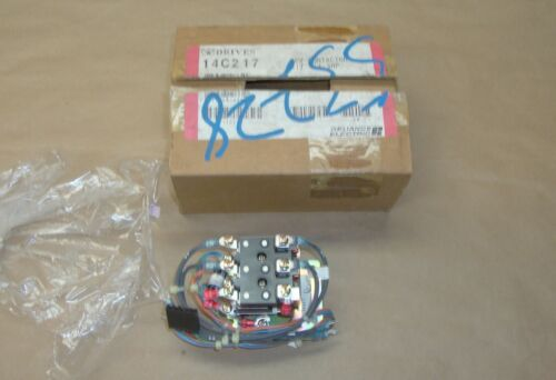 NEW Reliance Electric 14C217 Reversing Contactor kit 1/4-3 Hp 705385-60R 24 V DC