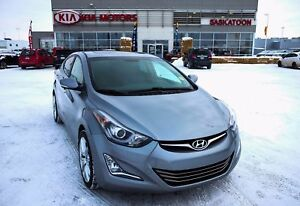 2014 Hyundai Elantra Limited FWD - NAV - LEATHER - HTD SEATS...