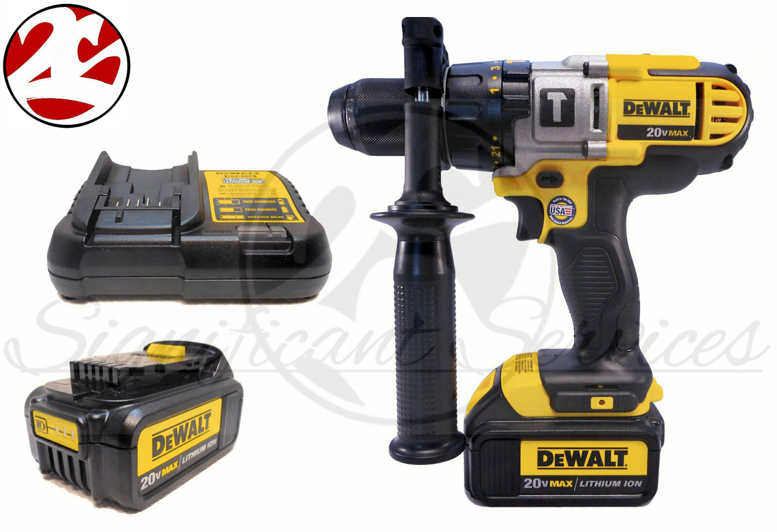 new dewalt dcd985 20v max lithium ion 1 2 cordless hammer. Black Bedroom Furniture Sets. Home Design Ideas