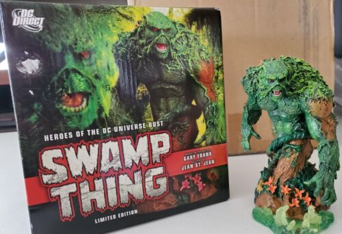 SWAMP THING BUST-HEROES OF THE DC UNIVERSE BUST-SWAMP THING STATUE-MAN THING
