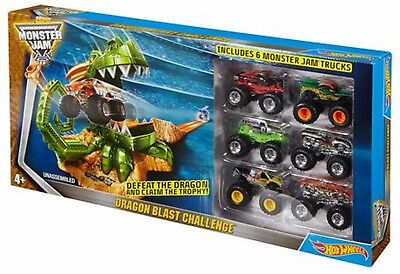 Hot Wheels Monster Jam Dragon Blast Ages 5+ New Toy Racing Car Boys Girls Play