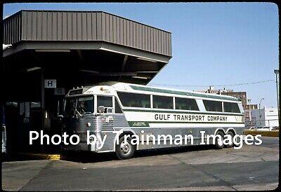 Bus Slide (Orig.): Gulf Transport Co. MCI Motor Coach, Memphis, TN - 1983