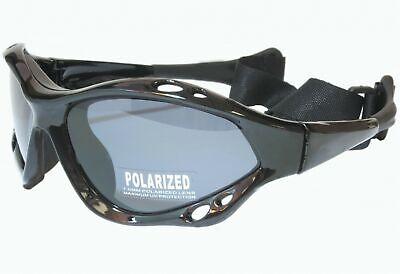 Jetski Polarized Watersport Sunglasses Surf Kitesurfing Glasses Black Gray