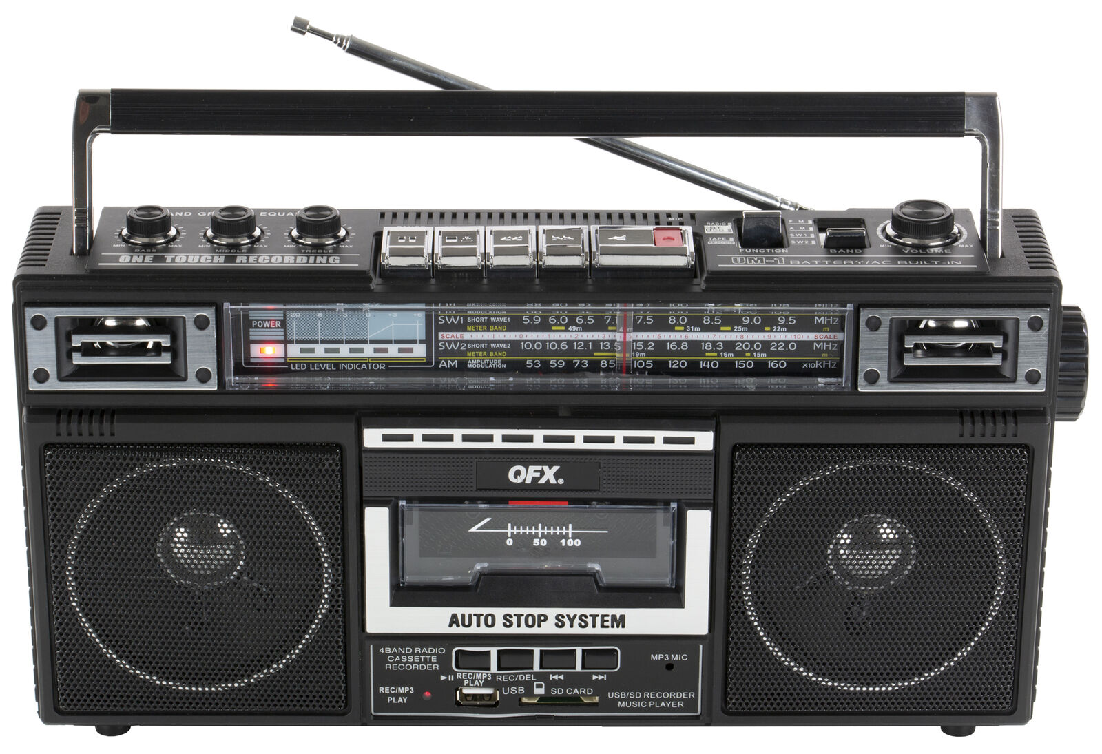 j 220bt bluetooth portable cassette player recorder