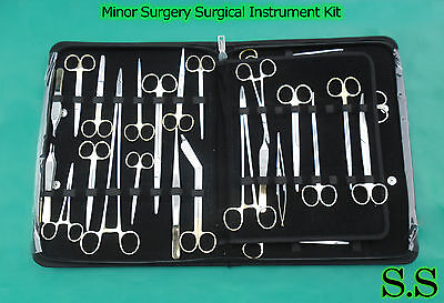 80 Pcs Minor Surgery Surgical Instrument Kit